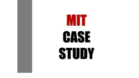 MITCASESTUDY.  Video About MIT OCW (2007)