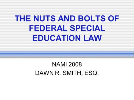 2008 federal regulation about adult education