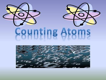 Atomic Number Atoms of different elements have different numbers of protons. Atoms of the same element all have the same number of protons. The atomic.