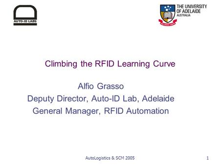 Climbing the RFID Learning Curve