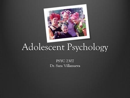 adolescence psychology Official journal for the society of clinical child and adolescent psychology (division 53), apa this journal aims and scope instructions for authors journal.