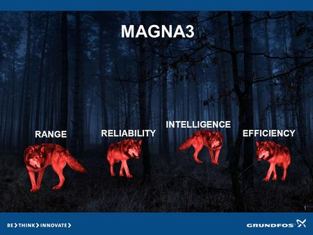 1 MAGNA3 RANGE RELIABILITY INTELLIGENCE EFFICIENCY.