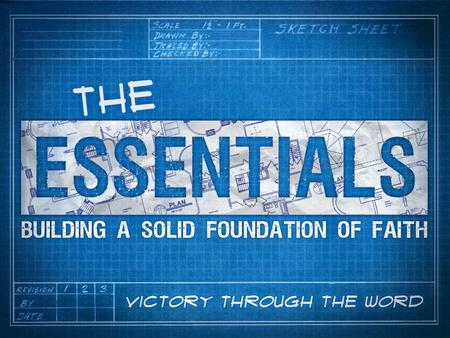 Essentials: Chapters 8-10 How can we experience VICTORY in the Christian life? God has give His children… 1.Spirit of God (water) 2.Word of God (soil)