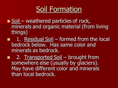 How do soils form stop treating your soil like dirt for Soil particles definition