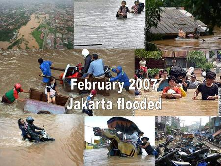 Ministry pulls all stops to reduce flood risk City News - February 20, 2007 Jakarta Post The government has renewed its commitment to expediting the construction.