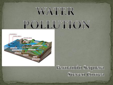 Water pollution is any change in water quality that can harm living organisms or make the water unfit for human uses Water pollution can come from a single.