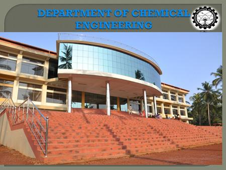 Department Summary Name of the Programmes Offered UG & PhD No of Faculty Members 09 Areas of specialization Fluidization Engineering, Hydrodynamics, Mass.