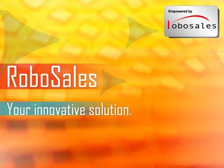 Evinco Solutions Limited Page 1. Evinco Solutions Limited Page 2 What is RoboSales? Integrated e-commerce solution for corporate and SME users Innovative.