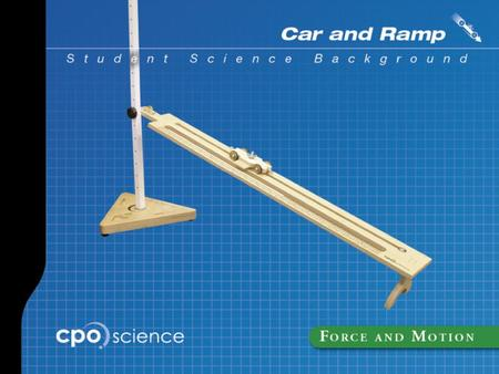 Car and Ramp Part One: Distance and Time Learning Goals  Accurately measure distance.  Identify metric and English units of distance.  Convert between.