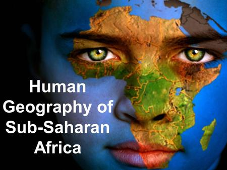 human geography in sub saharan africa Why malthus is still wrong   human geography   scoopit  projected religious  population changes in sub-saharan africa projected.
