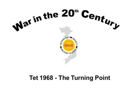 Tet 1968 - The Turning Point. Lesson Objectives Understand and summarize the military and domestic political situation on the Vietnam War in January 1968.