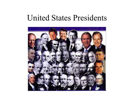 United States Presidents. George Washington 1789-1797 Commander in Chief of Continental Army Set precedents- two terms, cabinet Strengthen new government-