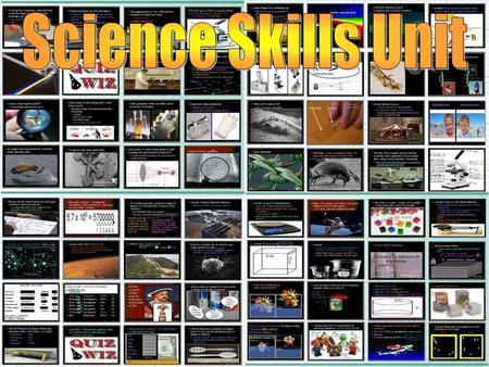 tml Areas of Focus within The Science Skills Unit: Lab Safety, Lab Safety.