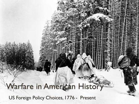 an introduction to the foreign policy in the united states An introduction to the us foreign policy on counter-narcotics  7 pages an analysis of the united states foreign policy in the cold war  an analysis of the.