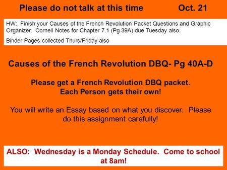 essay of the french revolution