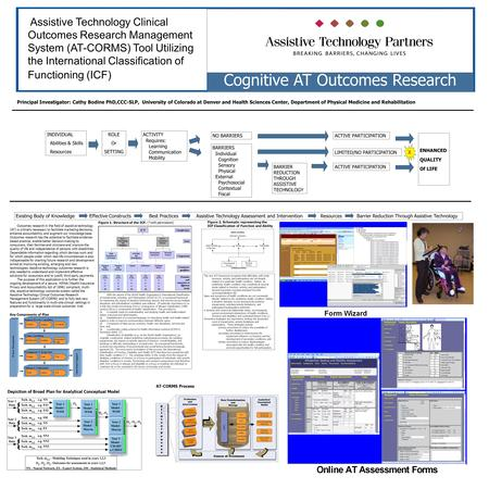 Assistive Technology Clinical Outcomes Research Management System (AT-CORMS) Tool Utilizing the International Classification of Functioning (ICF) Cognitive.