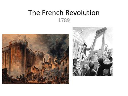 The French Revolution 1789. The French Revolution Causes of the Revolution Absolute Monarchy France was an absolute monarchy Louis XVI and Marie Antoinette.