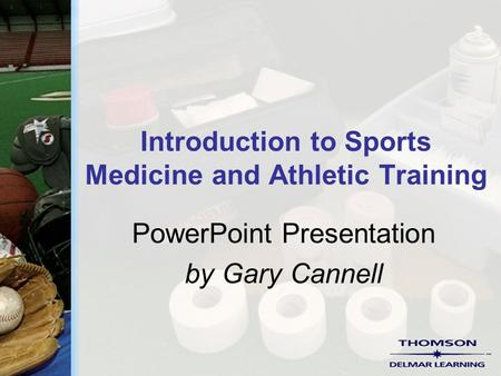 Introduction to Sports Medicine and Athletic Training