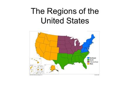 The Regions of the United States