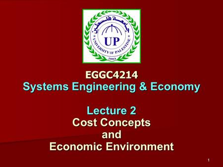 Basic concepts in environmental economics