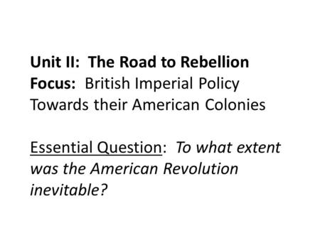 an overview of the british imperial regulations with the american colonies Overview after the seven years' war ended in american colonies to bear more of the cost of maintaining the british empire imperial wars and colonial protest.