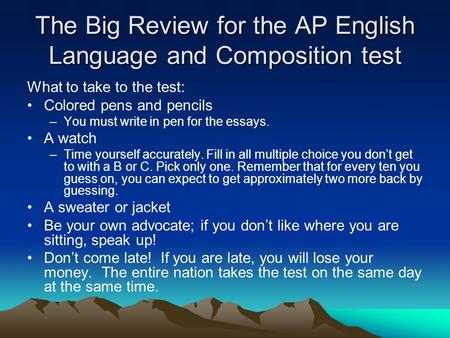 ap english language three types of essays Ap english language creativity essay (types of creative writing in english) by - april 12, 2018 0 1 share on facebook related post of ap english language.