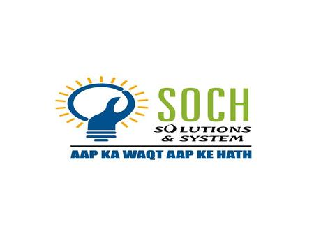 INTRODUCTION  Soch Solutions has launched an innovative e-queue system for crowd management.  Using the online advance queue web application, visitors.