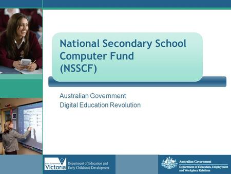 National Secondary School Computer Fund (NSSCF)