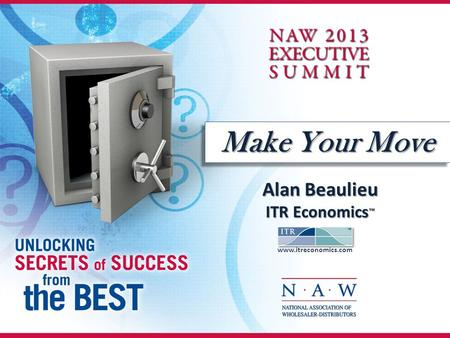 Make Your Move Alan Beaulieu ITR Economics ™ www.itreconomics.com.