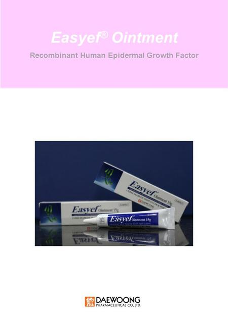 Recombinant Human Epidermal Growth Factor