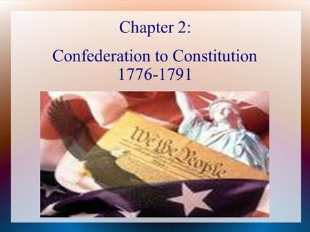 an introduction to the articles of confederation the first constitution of the united states of amer The constitution is composed of a preamble (an introduction), the main body (which consists of seven articles), and amendments (additions to the constitution made after the constitution was created) the preamble of the us constitution.