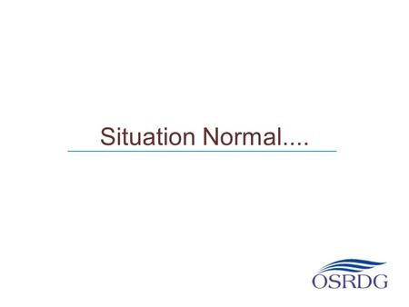 Situation Normal.... ___________________________________.