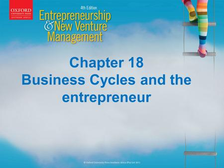 Chapter 18 Business Cycles and the entrepreneur