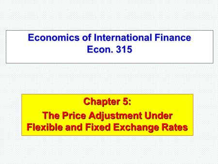 global financing and exchange rate mechanisms hard and sof Current debates over exchange rates: overview and issues for congress rebecca m nelson specialist in international trade and finance september 17, 2015.