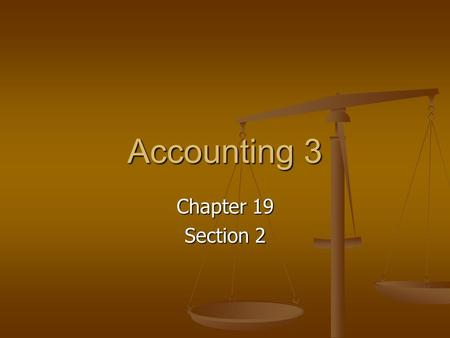 Accounting 3 Chapter 19 Section 2. Cash Receipts Journal This is a special journal used to record only cash receipt transactions. This is a special journal.