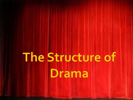  Drama, brought to life by the actors; expressed through the mediums of color, light, and movement against the background of stage and scenery; and unified.