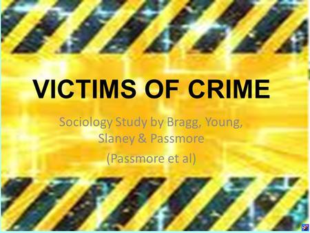 the study of victims of crime essay Our reporting does include male victims, but the law must reflect the fact that the  vast majority of some crimes are still committed by men against.