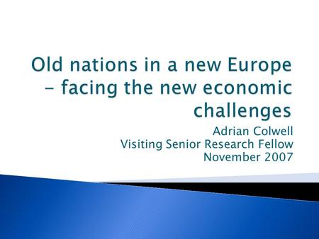 Innovating for sustainable growth in Europe - ppt download