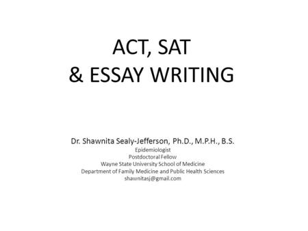 GED Essay — Reasoning Through Language Arts