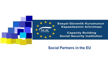 Social Partners in the EU. 2 Subjects  Social partnership in different socio-economic models  Social partnership: areas of influence  Collective bargaining.