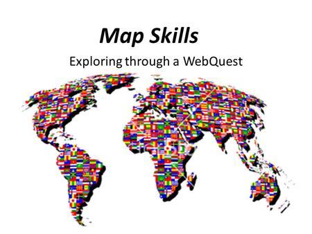 Exploring through a WebQuest