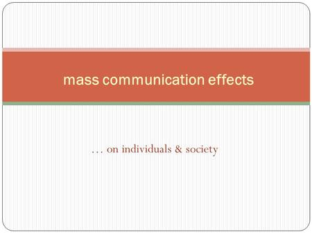 """mass society theory Mass society theory is just a largely common sense view of the society since the 19th century where the """"mob mentality"""" or a """"class containing lots of de facto indistinguishable members"""" become important for political events when lots of people t."""