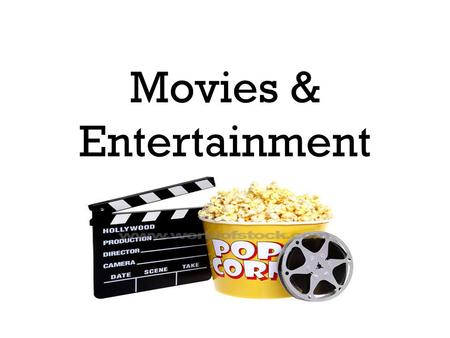 Movies & Entertainment