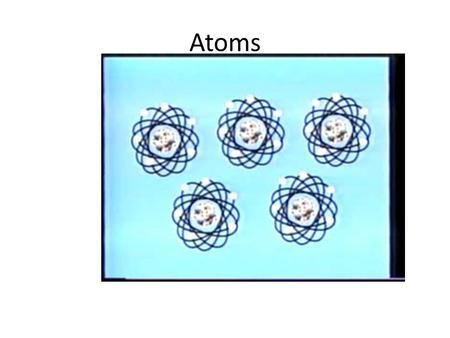 Atoms. Particles of an Atom Atom: smallest amount of an element ParticleRelative Mass ChargeLocationOther Info Proton 2000 + nucleusIdentifies the element.