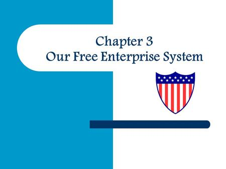 Chapter 3 Our Free Enterprise System. Activity #1 – Individual If you could open a restaurant in Miami what kind would you open and why? Discuss…. – Location.