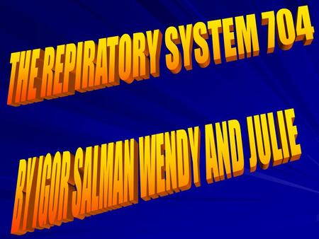 What are the major organs of the respiratory system and their jobs? Information – The major organs of the respiratory system is the nasal cavity and oral.