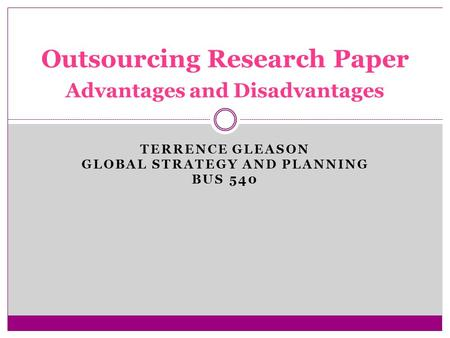 """offshore outsourcing advantages and disadvantages Read about the pros and cons of offshoring vs outsourcing in our  a company  can also """"offshore"""" by shifting its production capabilities to."""