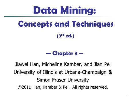 han kamber data mining pdf