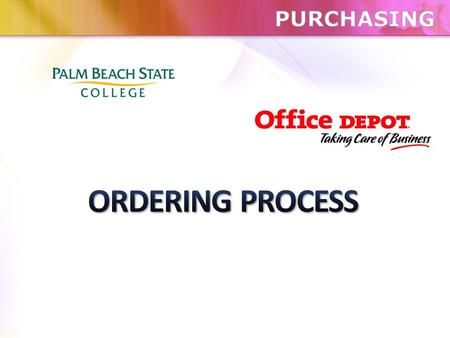  Use special Req. Type OS - OFFICE SUPPLY BLANKET ORDER.  Use special Vendor Number OFFCDEPOT.  Use Blanket End Date of fiscal year end date (i.e.