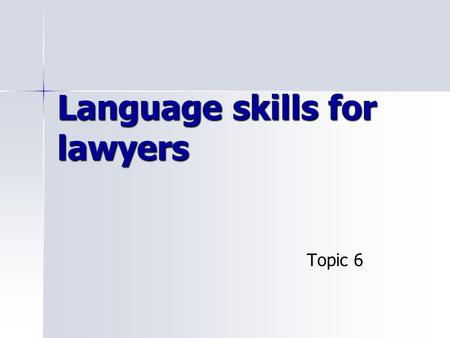 LAWYERS FOR ENGLISH PLAIN